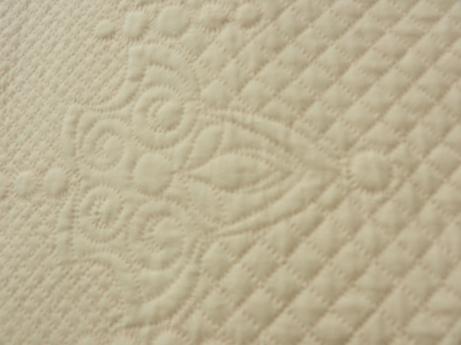detail, Andrea Stracke's quilt